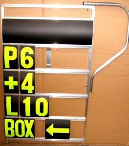 Pitbord 5 rijen GP XL