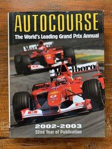 Autocourse 2002-2003